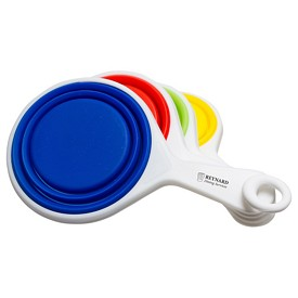 Custom Pop Out Silicone Measuring Cups