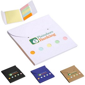 Customized Square Deal Sticky Note Wallet