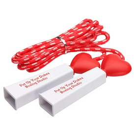 Promotional Heart Fitness Jump Rope