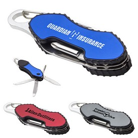 Promotional 6 In 1 Carabiner Tool