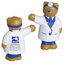 Promotional Doctor Bear Stress Reliever