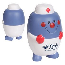 Customized Pill Nurse Stress Reliever