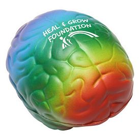 Customized Rainbow Brain Stress Reliever