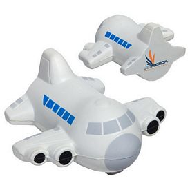 Promotional Small Airplane Stress Reliever