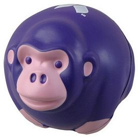 Promotional Monkey Ball Stress Reliever