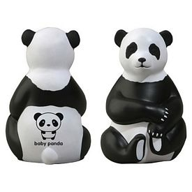 Promotional Sitting Panda Stress Reliever