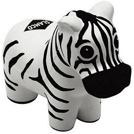 Promotional Zebra Stress Reliever