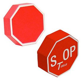 Promotional Stop Sign Stress Reliever