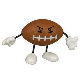 Promotional Football Figure Stress Reliever