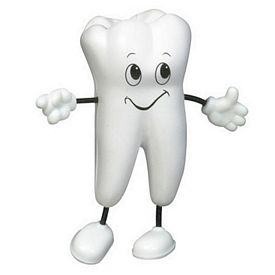 Promotional Tooth Figure Stress Reliever