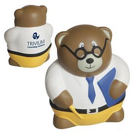 Promotional Teacher Bear Stress Reliever