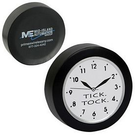 Promotional Clock Stress Reliever