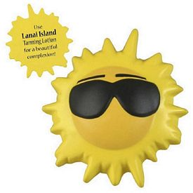 Promotional Cool Sun Stress Reliever