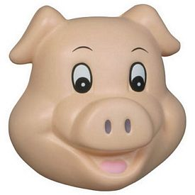 Promotional Pig Funny Face Stress Reliever