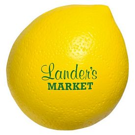 Promotional Lemon Stress Reliever