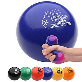 Promotional Items - Color Changing Gel - Black Stress Reliever
