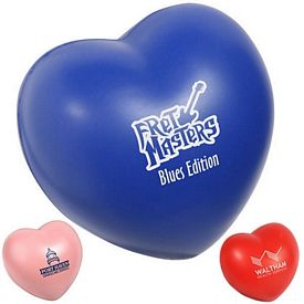 Promotional Valentine Heart Stress Reliever