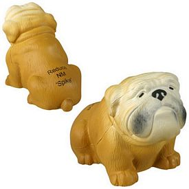 Promotional Bulldog Stress Reliever