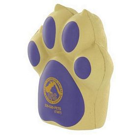 Promotional Items - Dog Paw Stress Reliever