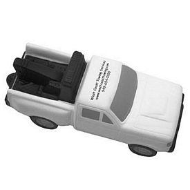 Promotional Tow Truck Stress Reliever
