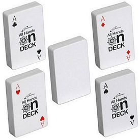 Customized Deck of Cards Stress Reliever