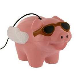 Promotional Flying Pig Yo-Yo Stress Reliever
