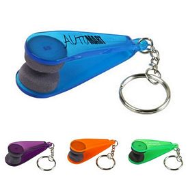 Promotional Eyeglass Cleaner Key Chain