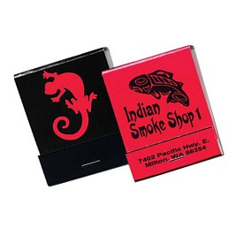 Promotional 20 Strike Red Board Matchbooks