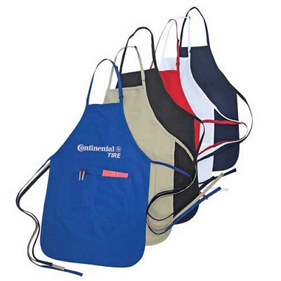 Custom Worker Pro Poly-Cotton Adjustable Apron