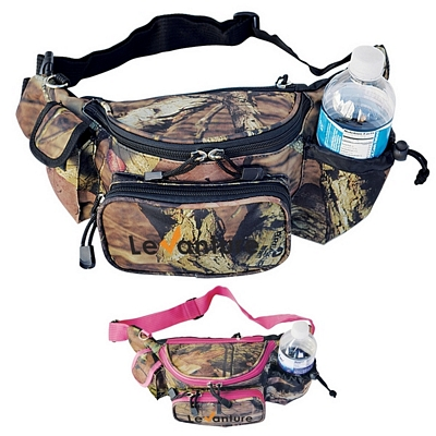 Promotional Mossy Oak Camo Fanny Pack