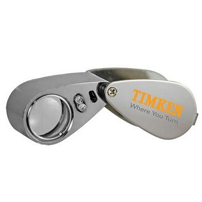 Custom 10X Illuminated Loupe Jewelry Magnifying Lens