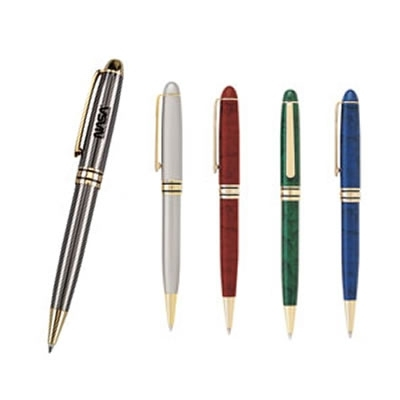 Promotional Financial Manager Twist-Action Ballpoint Promotional Pen