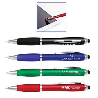 Customized Paralegal Soft-Touch Stylus Tip Plastic Ballpoint Pen