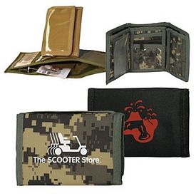 Customized Tri-Fold Military Man Wallet