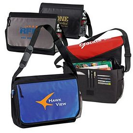 Promotional Student Laptop Messenger Bag