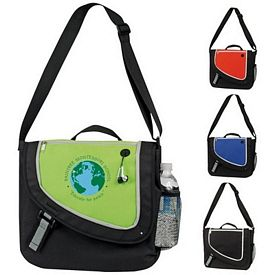 Promotional Highlight Messenger Bag