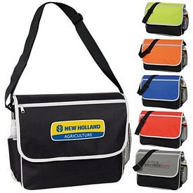 Promotional Contrast Messenger Bag