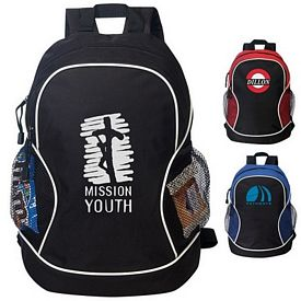 Customized Retreat Two Tone Backpack