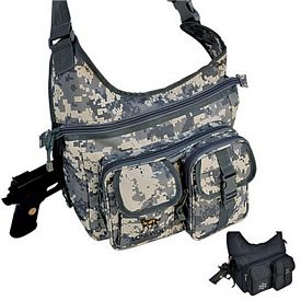 Custom Sling Shoulder Pack With Gun Pocket