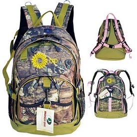 Promotional Mossy Oak Camo Versatile Outdoor Backpack