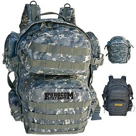 Promotional Tactical Duty Expandable Backpack With Molle Straps