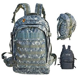 Customized Tactical Laptop Backpack With Molle Straps
