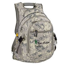 Custom Digi Camo Computer Backpack