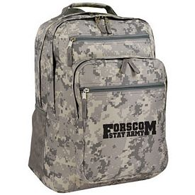 Customized Digi Camo Travel Backpack