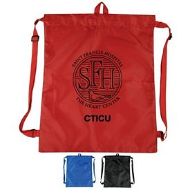 Promotional Lightweight Drawstring Backpack