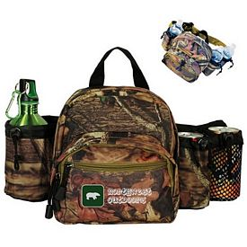 Custom Mossy Oak Camo Outdoor Waist Pack