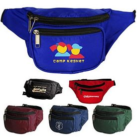Promotional Tri-Zipper Fanny Pack
