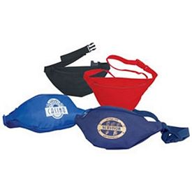 Customized 1 Zipper Polyester Fanny Pack