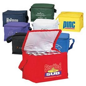 Customized 6-Pack Cooler Lunch Bag