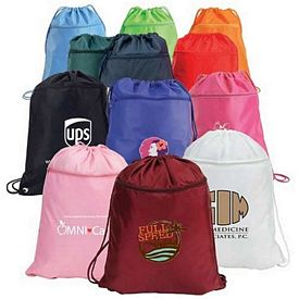 Promotional Bright Advertising Drawstring Backpack